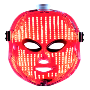 pearl xen led mask intense red