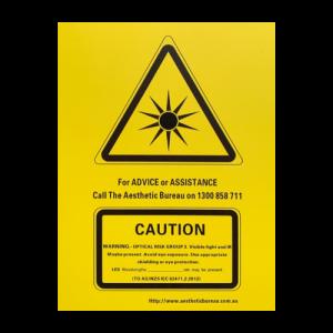 LED Warning Sign