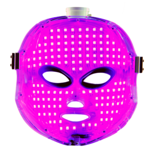 Pearl Xen LED therapy mask red blue NIR healing